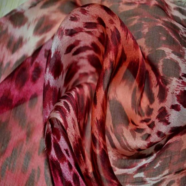 Custom Printed Silk Paj Fabrics
