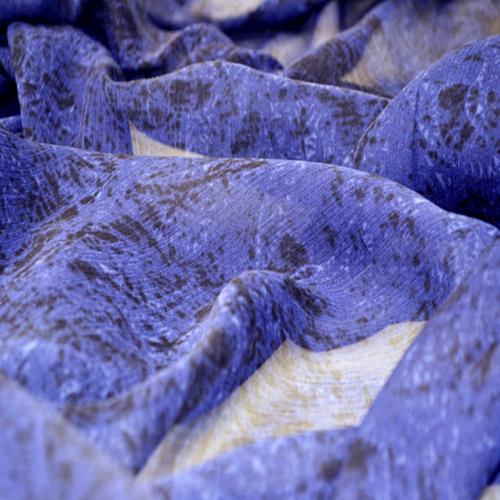 Custom Printed Silk Yoryu Fabric