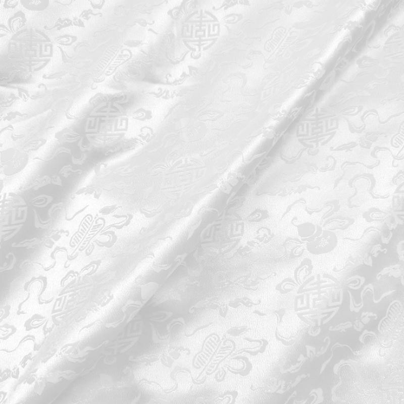 Custom Printed Silk Jacquard Fabric