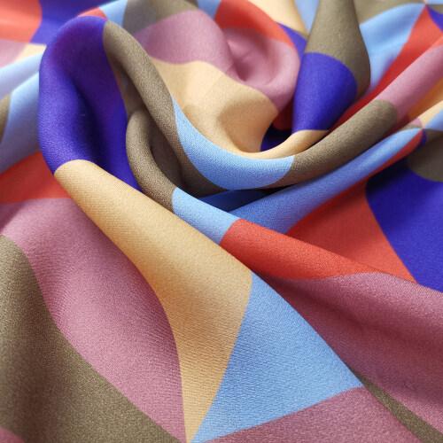 Custom Printed Silk Georgette