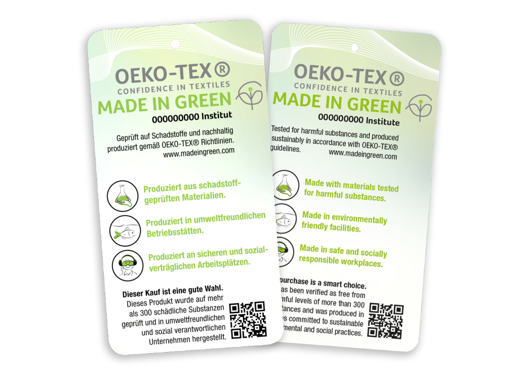 All Silk Products Certified by OEKO
