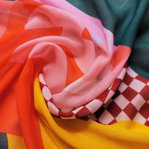Custom Printed Silk Modal Fabrics