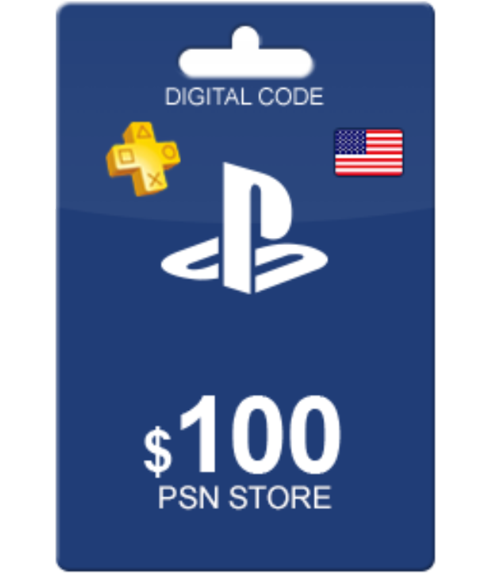 PlayStation Network Gift Card 100 USD United States