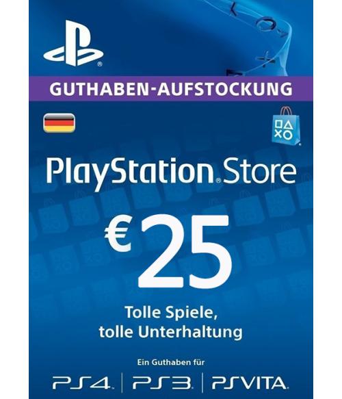 Play Station Network 25 EUR DE