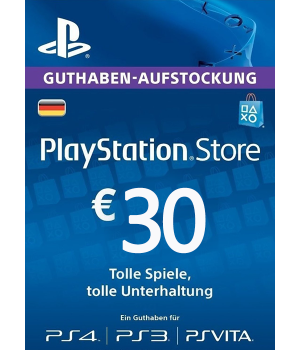 Play Station Network 30 EUR DE