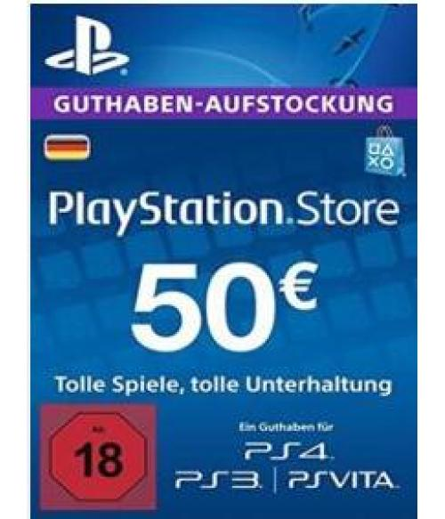 Play Station Network 50 EUR DE