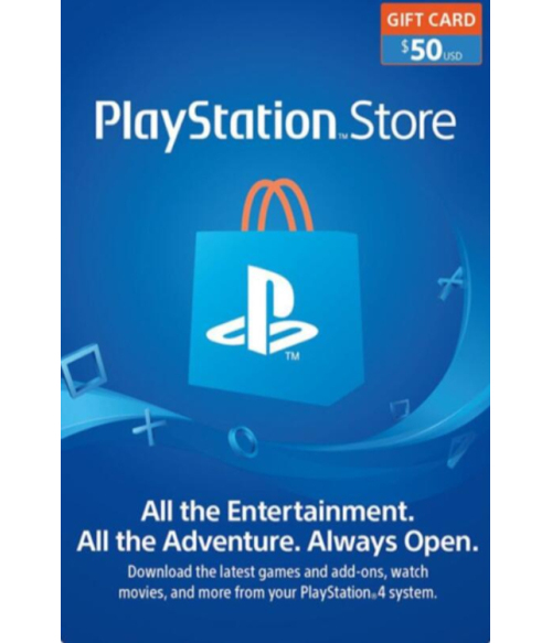 PlayStation Network Gift Card 50 USD United States