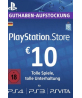 PlayStation Network Gift Card 10 EUR Germany