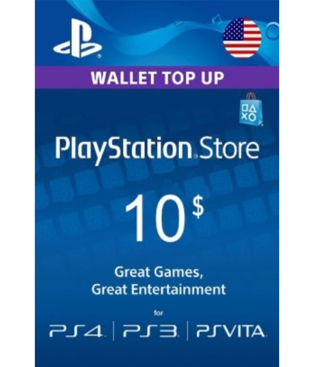 PlayStation Network Gift Card 10 USD United States