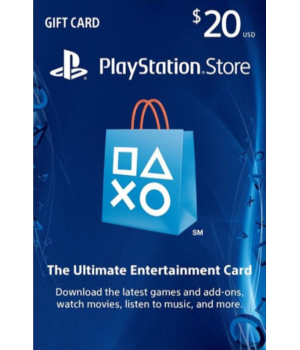 PlayStation Network Gift Card 20 USD United States