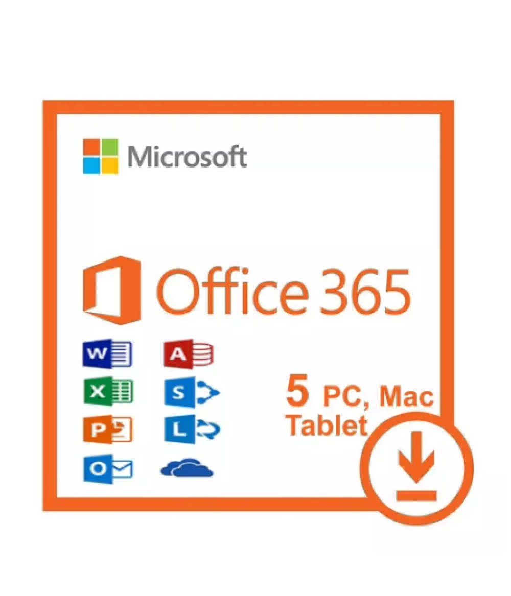 Office 365 Pro Plus 2019 Lifetime Account 5 Pc / 5 Mac & 5TB Fast Delivery Office 365 Pro Plus-5 Edition Account