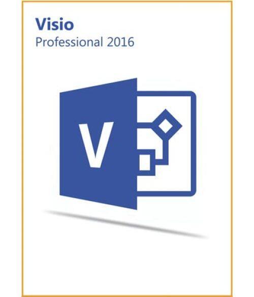 Visio Pro Professional 2016 Key Global