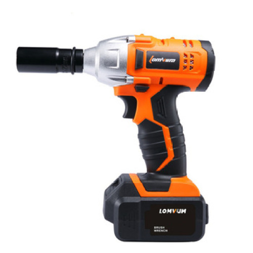 21V 320NM brushless motor speed ajustable electric cordless impact wrench