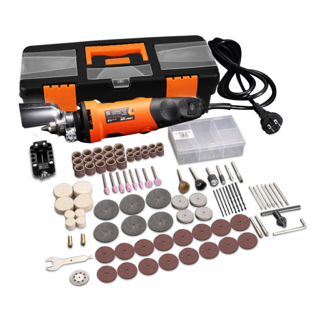 Lomvum Electric Die Grinder Set Engraving Tool 400W 6 Speed Grinding Polishing Rotary Tool