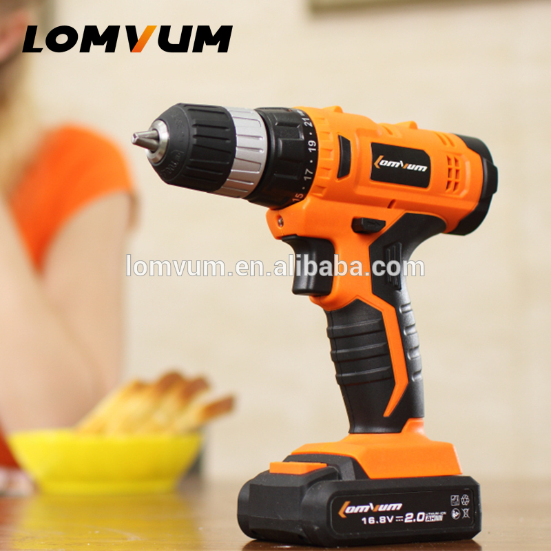 Variable Speed Tools drill with Impact function and Magnetic drush drills