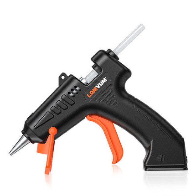 Lomvum 3.6V Cordless Hot Melt Glue Gun With Glue Stick
