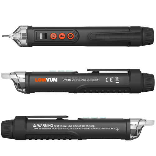 LOMVUM 12- 1000V electrical test pen electroprobe
