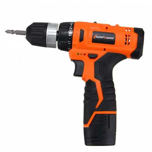 Power Tools 12V 350W Wood Metal Drilling Work Cordless Lithium Battery Impact Electric Drill