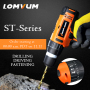LOMVUM 12V Lithium-Ion Cordless Driver Drill Kit 2 speed shift 25nm Screwdriver Rechargeable