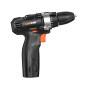 Lomvum 12V Electric Tools Screwdriver Lithium Cordless Drill Brushless