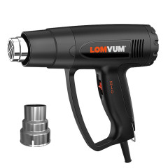 LOMVUM 2000W1800W Multifunctional Hot Air Heat Gun Temperature Control Safety Adjustable Hot Selling Heat Gun
