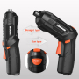 Lomvum Mini cordless screwdriver USB charging Multi functional Drill Household electric  power screwdriver set DIY Tools