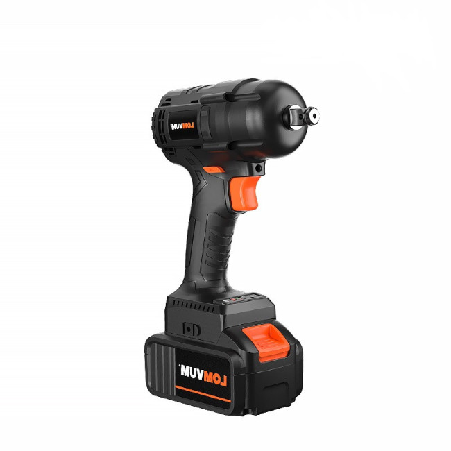 Lomvum Adjustable Torque Black Electric Cordless Impact Socket Wrench