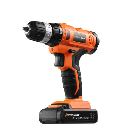 Power Tools 20V Rechargeable Battery Electric Cordless Impact Drill