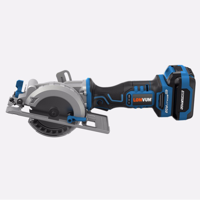 Cordless Brushless Mini Circular Saw Metal Wood Cutting Machine