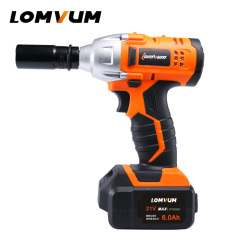 Wheel Screwdriver Electric Cordless Impact Wrench With LED Light