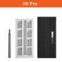 LOMVUM 22/25/50 Precision Magnetic Aluminum Case Mobile Phone Repair Hand Tools Screwdriver bits Set