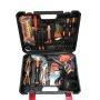 Lomvum 27pcs DIY Tool Set Electric Cordless Impact Drill Tool Kit