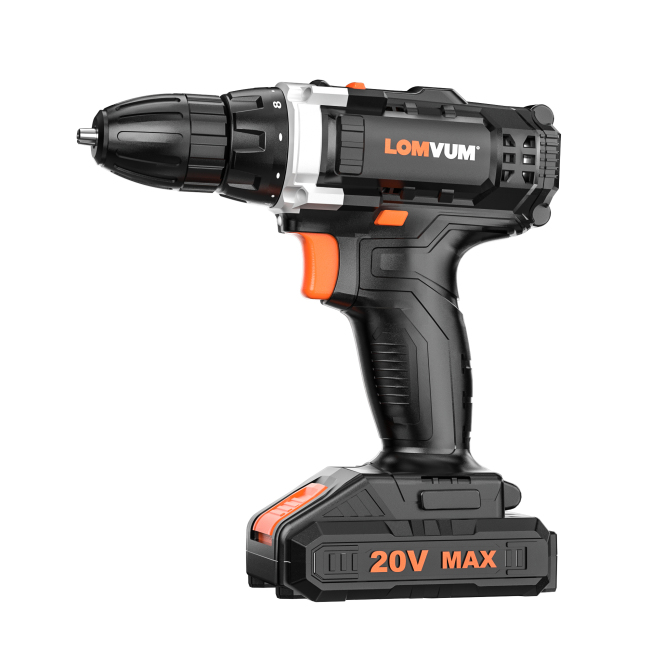 20V Heavy Duty Rechargeable Portable Wood Drill Machine