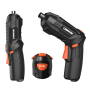 Electric Power Cordless Drill Screwdriver 4V Mini Lithium Battery