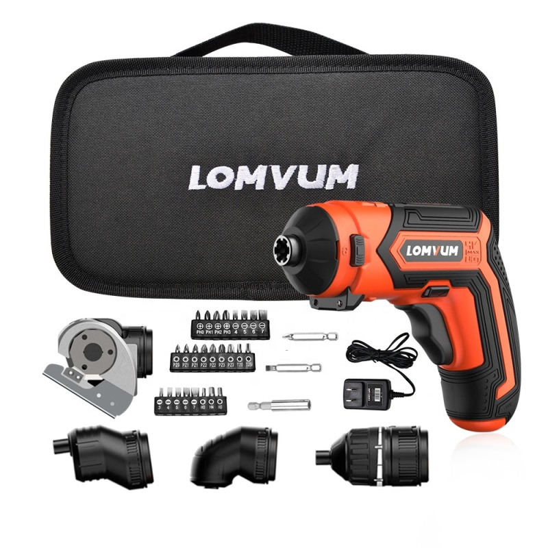 Lomvum  Multi-function Household dc motor cordless screwdriver