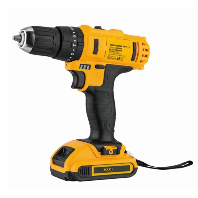 Lomvum Power Tools Variable Speed Portable Cordless Drill 18V