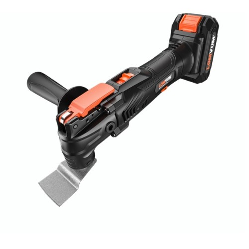 Lomvum Power Tools 21V Cordless Oscillating Multi tool With Saw Blades