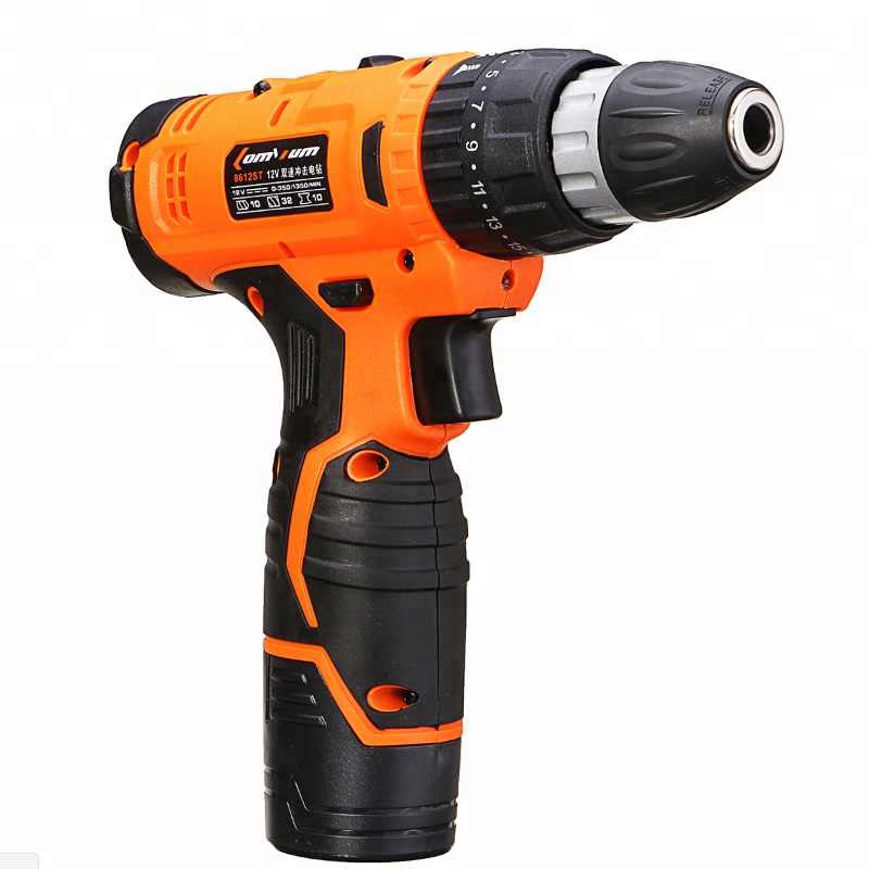 Power Tools Work Wireless Lithium Battery Cordless  12v dc electric drill