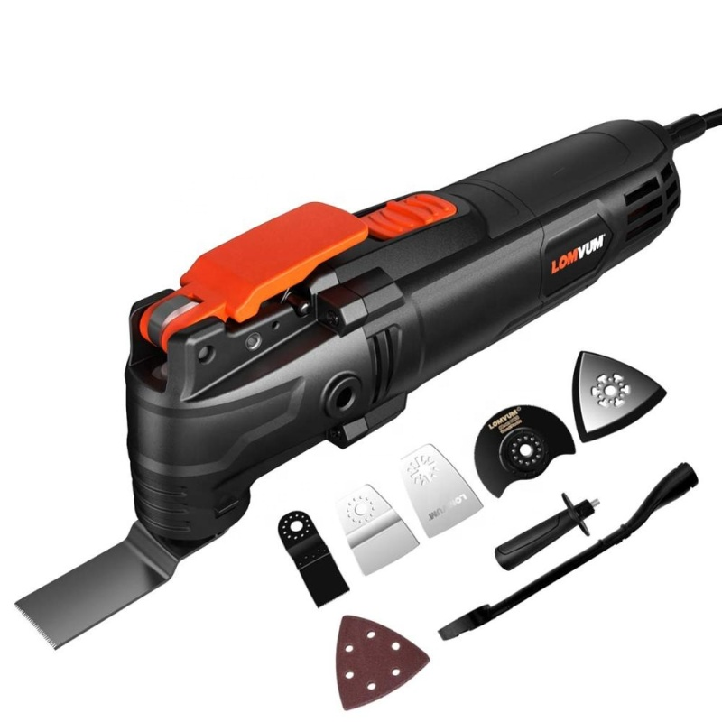 LOMVUM Multi-Function Electric Saw Renovator Tool Woodworking Oscillating Tools