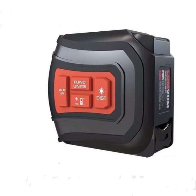 LOMVUM  Laser Digital Tape Measure 40M  With 5M Measuring Tape 3 in 1Laser Distance Meter
