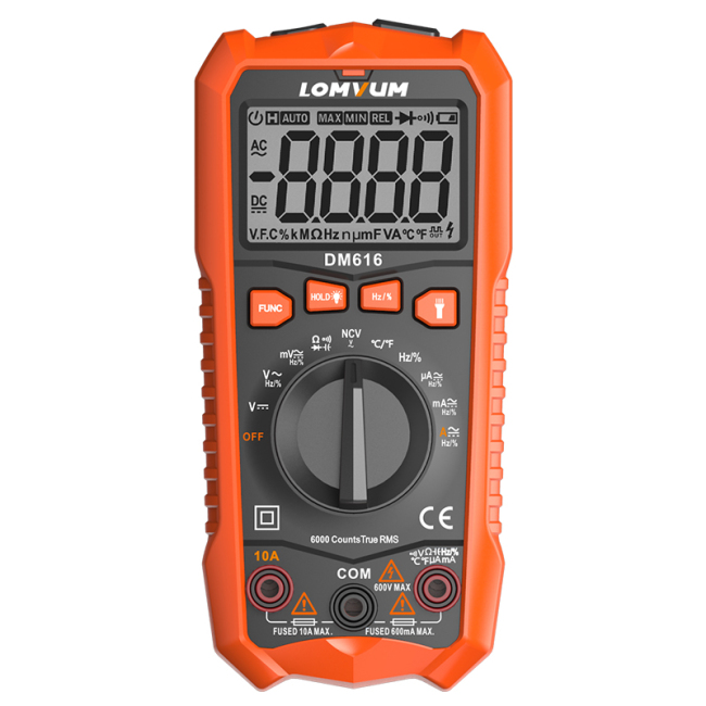 LOMVUM Wholesale Best Quality Electronic Digital Multimeter Tester
