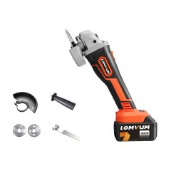 Lomvum Power Tools 4inch Battery Brushless Cordless Angle Grinder