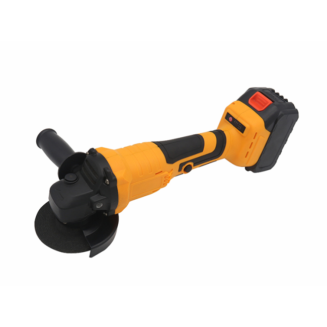 Lomvum Power Tools 18V Battery Cordless Brushless Angle Grinder