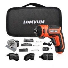 Lomvum  New Arrival 4V LED Portable Very Light Weight Power Tool Mini Screwdriver