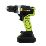 Power Tools Li-Ion Battery Hand Rechargeable Cordless Driver Drill With Two Speed And Led Light
