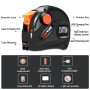 LOMVUM Easy Operation Laser Distance Measuring Tools Digital Tape 2 in 1 Laser Type
