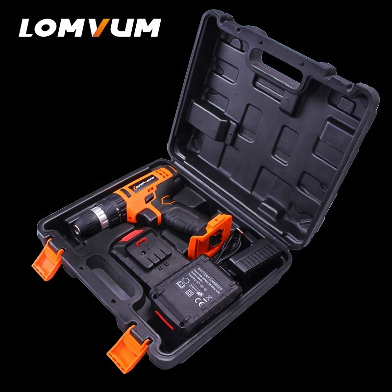 Lomvum 12V Battery Power Tools Electric Lithium Battery Wireless Screw Driver