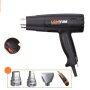 LOMVUM 1800W Portable Temperature Adjustable Hot Air Gun Electric Heat Gun