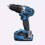 18V Brush Two Variable Speed Powerful Screwdriver Lion Battery Cordless Drill Driver