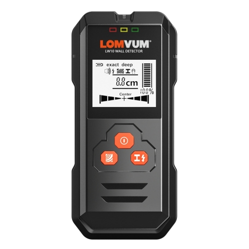 LOMVUM Wall Metal Detector Handheld multi functional stud wall finder portable LCD digital ac cable live wire scanner